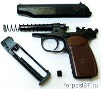 Пистолет пневматический Макров ИЖ МР-654К-28, Купить в Москве, Цена